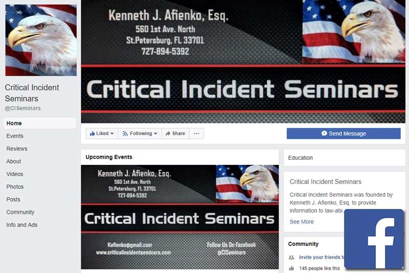Critical Incident Seminars Facebook