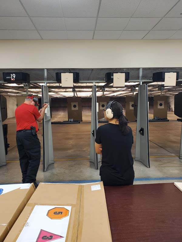 Conceal Carry Live Fire